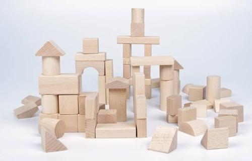 klocki drewniane