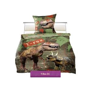 posciel-dinozaury-trex